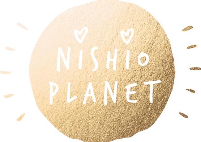 NISHIO PLANET LOGO