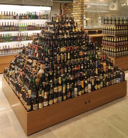 ボトルビールタワー