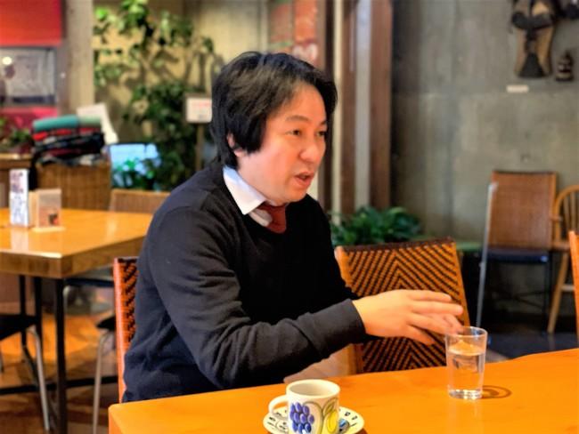 株式会社サザコーヒー 鈴木太郎社長