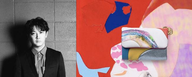 左:杉田陽平 右:第一弾 杉田陽平モデル マルチコンパクトウォレット