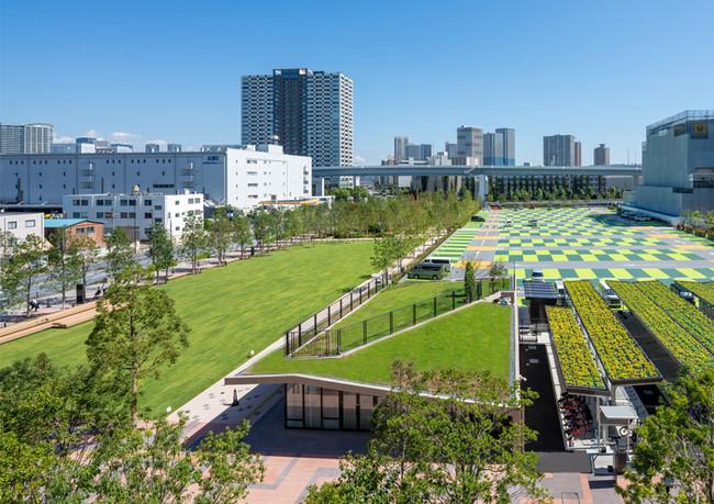 会場:有明ガーデンパーク(左)スポーツエンターテイメント広場(右)