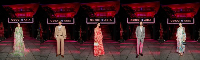 Images Courtesy of Gucci