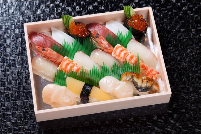 「上寿司盛り2合(16貫)」