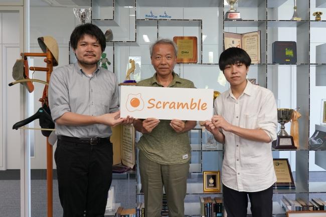 左から川節代表理事、浅田先生、廣本理事