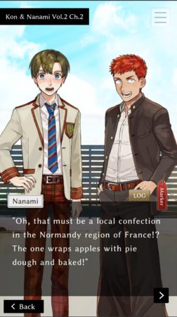 英語版画面