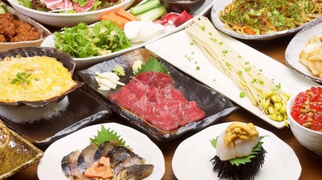 青森県内各地の食を取り揃えます