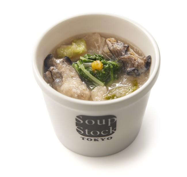 10月5日(月)全国発売「みをつくしのスープ 牡蠣の潮煮(うしおに)みぞれ仕立て」