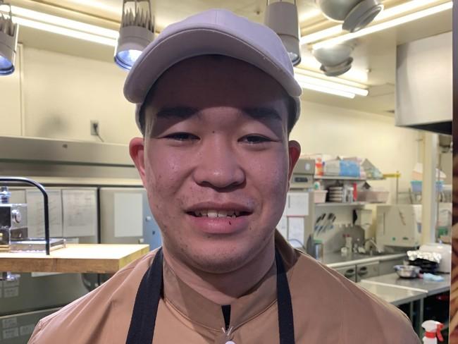 生搾りモンブラン イオンモール八千代緑が丘店店長 渡邊 優大さん