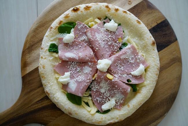 モルタデッラとリコッタチーズ