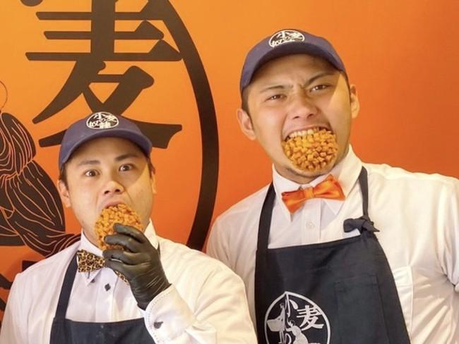 名古屋千種店店長 永田大和さんと山内奏輝さん