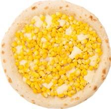 森山ナポリ「朝採れトウモロコシのピザ」