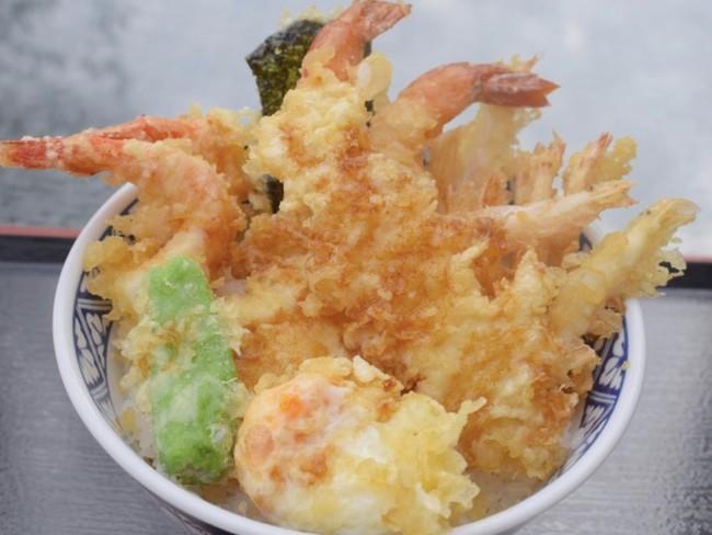 「海老三昧天丼」(税込1848円)