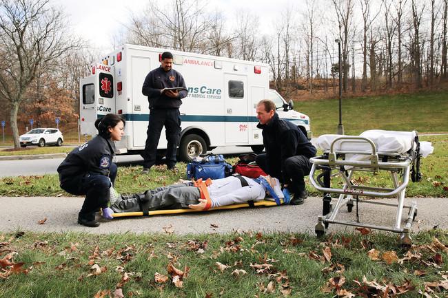 救急隊員向けシミュレーションプログラム
