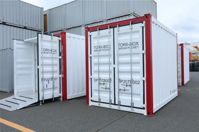 多機能コンテナ型クリーンルーム(TORII-BOX)