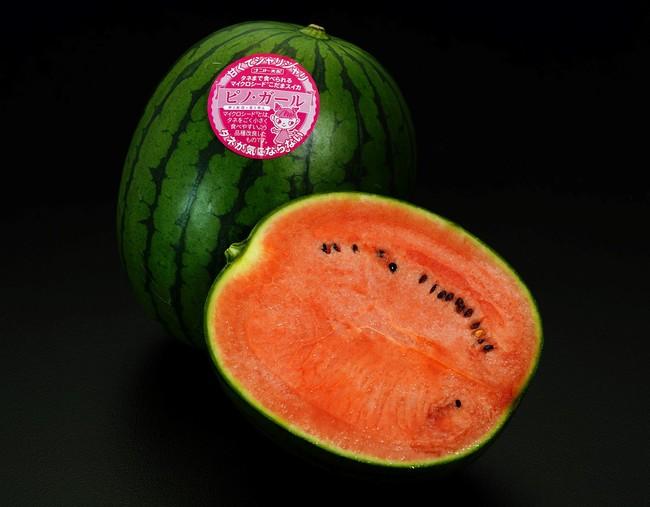 種ごと食べられるマイクロシードスイカ「ピノ・ガール」