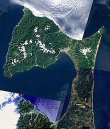 青森県の北の端、下北半島