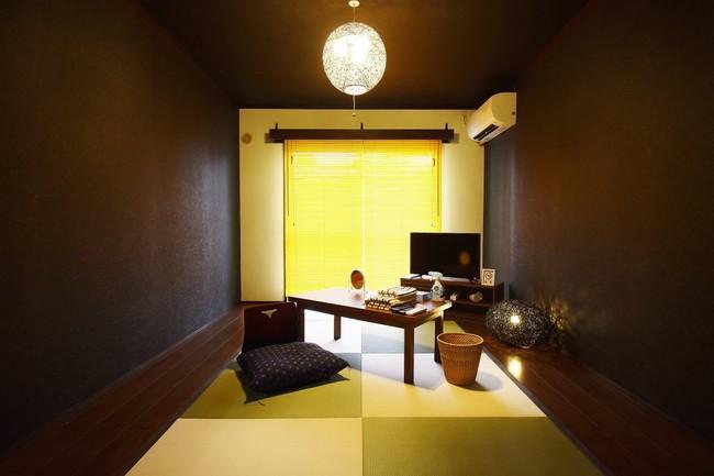 和室をリフォームしたユニークなお部屋も!