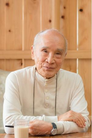 谷川俊太郎さん(撮影:深堀瑞穂)