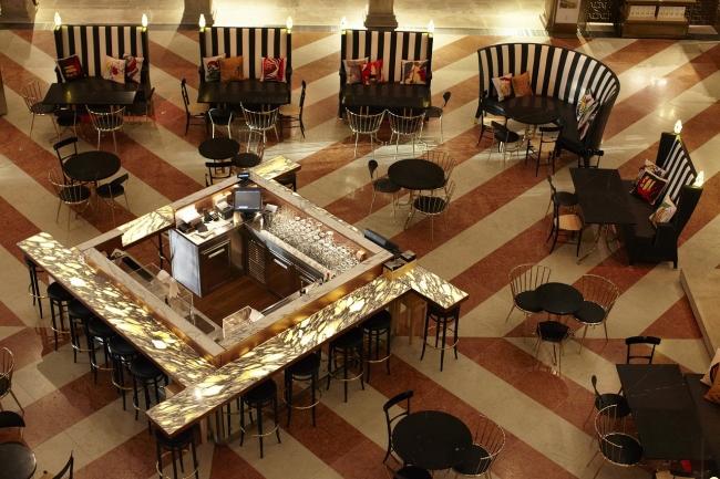 Tフォンダコ デイ テデスキ内に新たにオープンした「AMO」