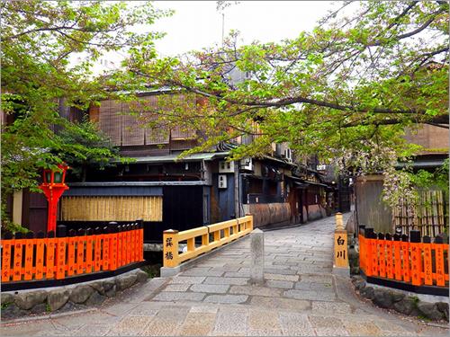 祇園で京情緒を満喫