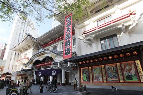 日本が誇る伝統文化 歌舞伎の殿堂