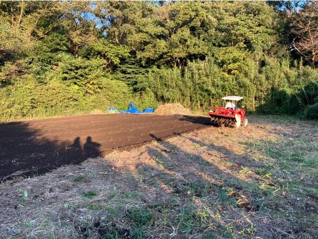 ニュー農園耕耘