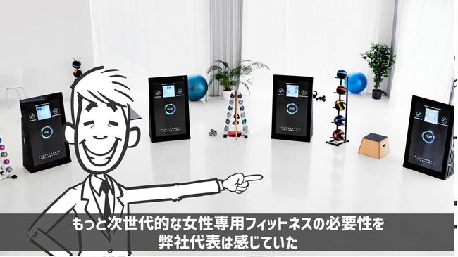 フランチャイズ【最先端AIフィットネスジム】FURDIが生まれた理由 アニメーション より