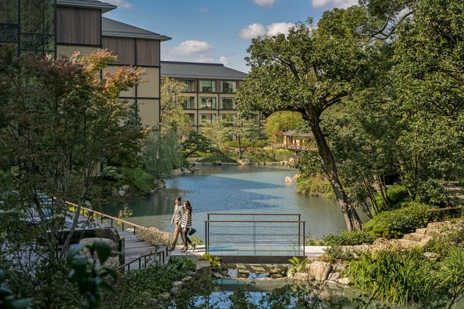 歴史ある日本庭園を抱く、フォーシーズンズホテル京都