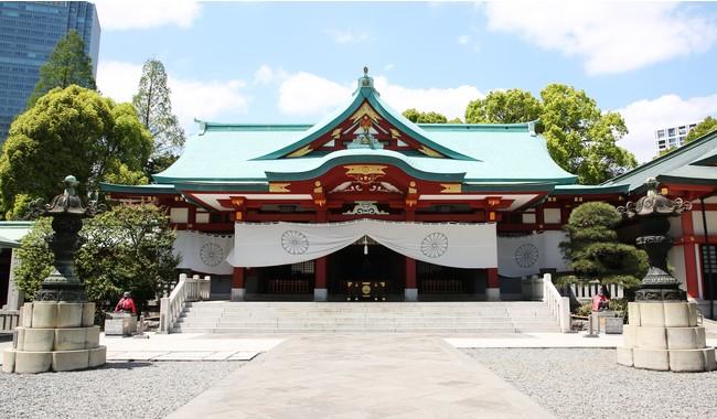 日枝神社社殿白幕