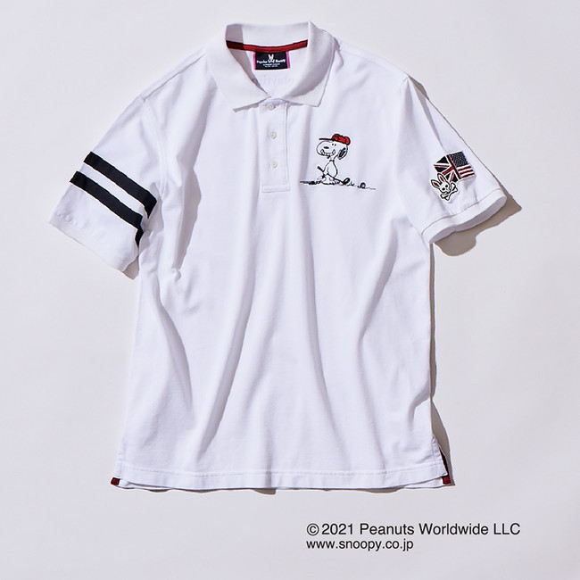 価格/1万7000円(税抜) ・ 色展開<ホワイト・ネイビー・ピンク> ・ サイズ:XS~XL