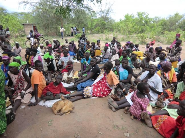 """南スーダンでの戦闘によって発生した""""国内避難民""""への緊急支援を実施"""