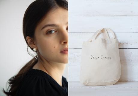 Emma Francisオリジナルピアス・エコバック