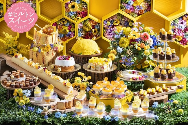 HONEY BEAT SWEETS BUFFET メインビジュアル