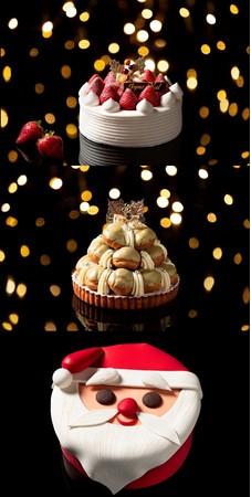 ヒルトン福岡シーホーククリスマスケーキ2020