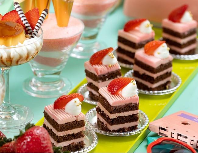 懐かしのいちごバタークリームケーキ