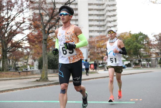 昨年11月に開催したイベント 「サウルスマラソンチャレンジ」の様子