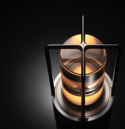 クリスタルガラスと新光源が作り出す、透明感と暖かみのある灯り Photo Hiroshi Iwasaki