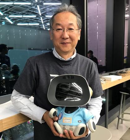 ユニボ先生と有限会社ソリューションゲート代表取締役社長 鈴木博文氏