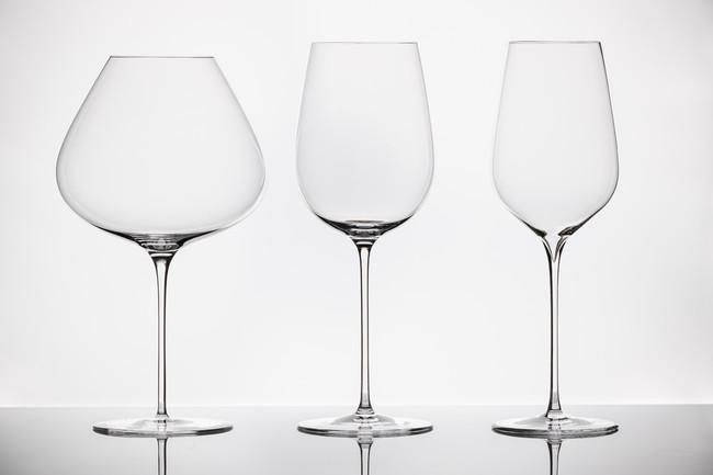 グラスは3種類。