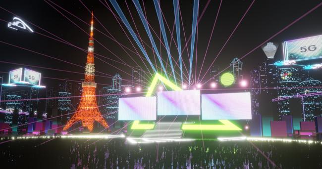 「バーチャル東京タワー」のイメージ