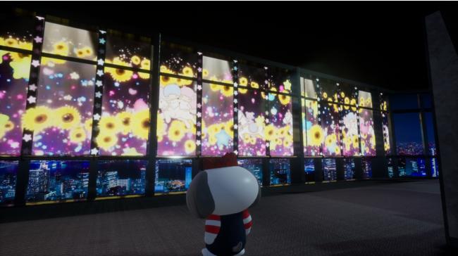 プロジェクションマッピング 「TOKYO TOWER CITY LIGHT FANTASIA -LittleTwinStars-」(メインデッキ・有料エリア)