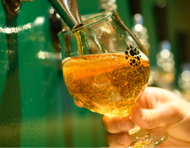 完熟梅の香りと酸味を楽しめるビール