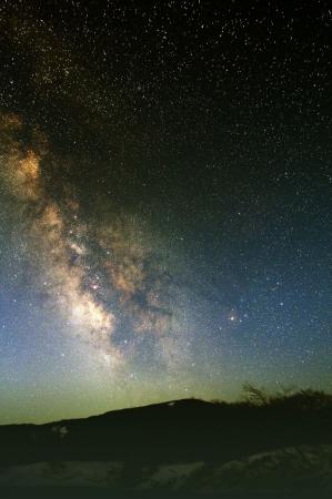 望遠鏡から見られる蔵王町の星空(イメージ)画像提供:えぼしリゾート