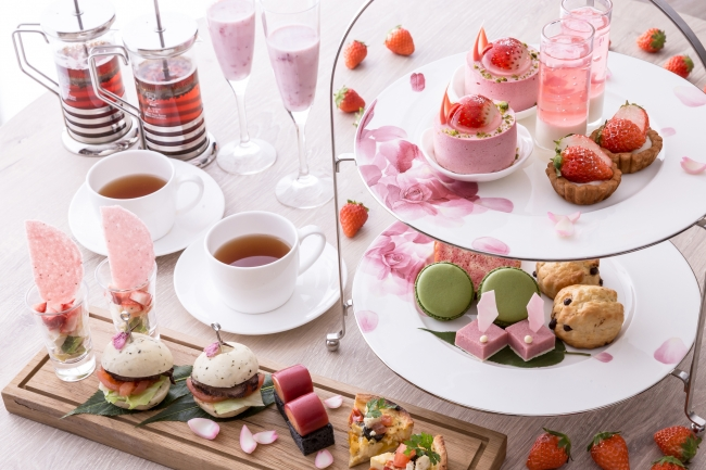 Afternoon Tea ~SAKURA Strawberry~
