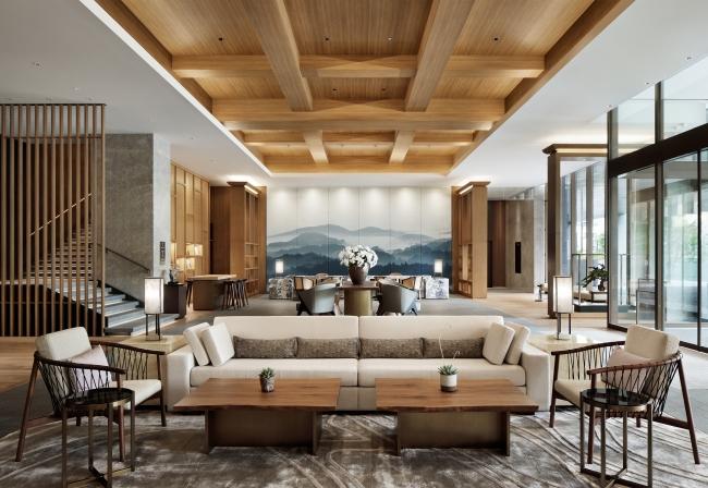 JWマリオット・ホテル奈良(2020年7月22日開業) ロビー
