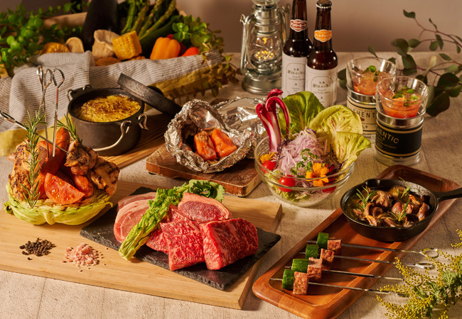 Terrace BBQ Dinner イメージ