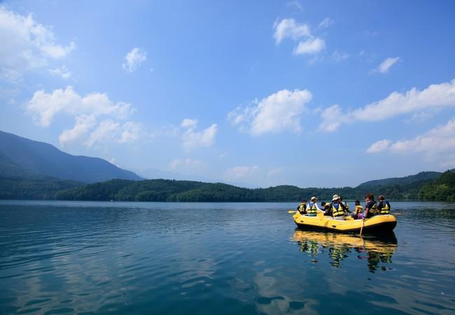 青木湖ラフトピクニック イメージ
