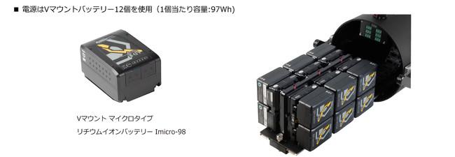 VM12その他の特徴バッテリー