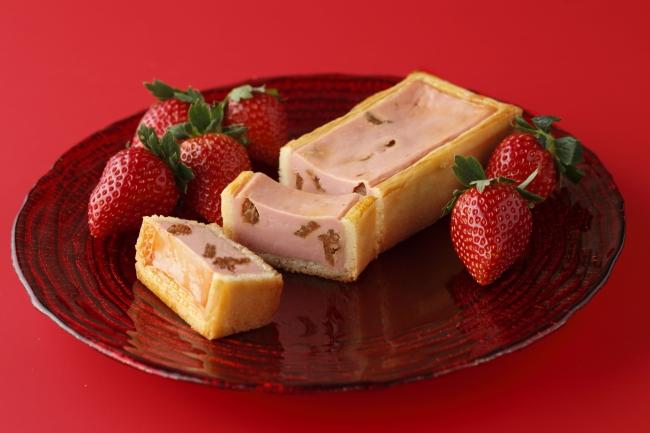 冬の手焼きチーズケーキ(いちご)イメージ