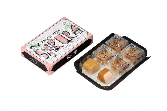 『春のチーズケーキ(さくら味)』6個入